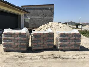 168 vriec cementu a 39ton 0-4