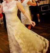 Celočipkové svadobné šaty Ninfea (Bianco Evento), 40