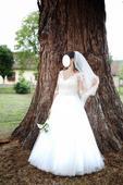 Svadobné šaty na predaj , 38
