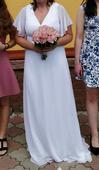 Svatební šaty  42-46 vel, 44