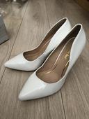 Biele svadobné topánky , 41