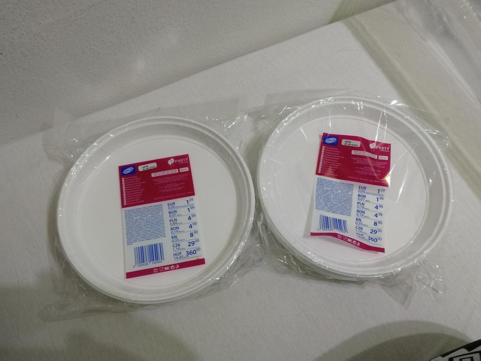 Plastové nádobí - Obrázek č. 1
