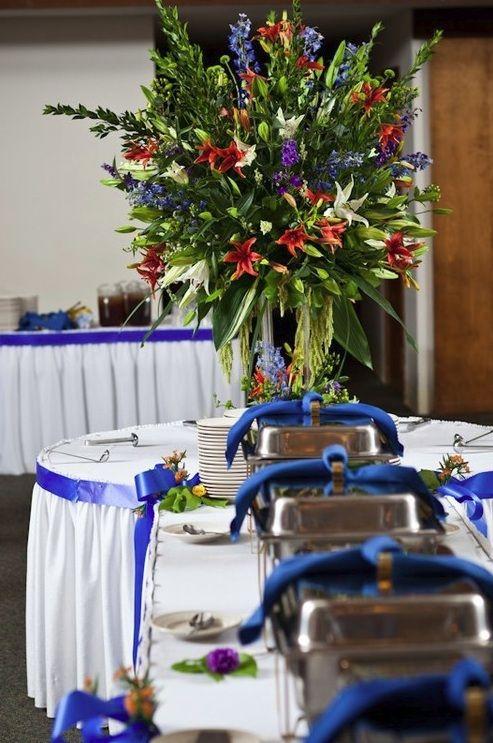 Plánovací diár - modre satenove stuhy presne tieto mam, lebo jedna z farieb bude tato kralovska modra, mozno takto presne oramujem okruhle stoly