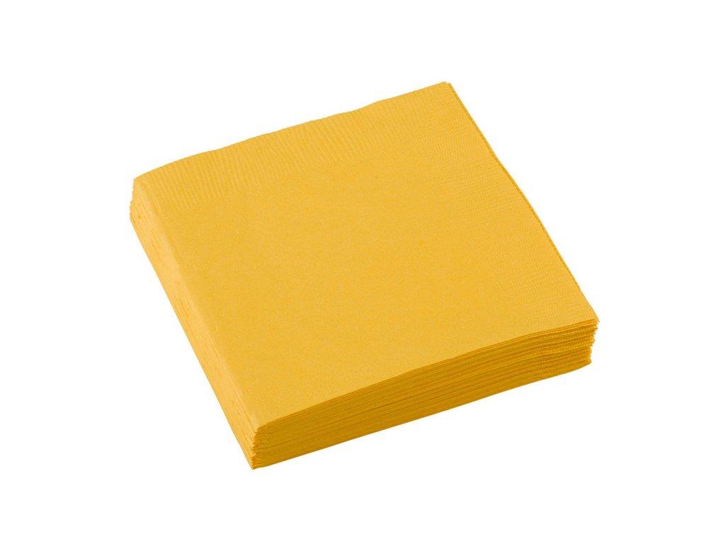 Plánovací diár - na tanieroch bude kombinacia zltej a modrej servitky