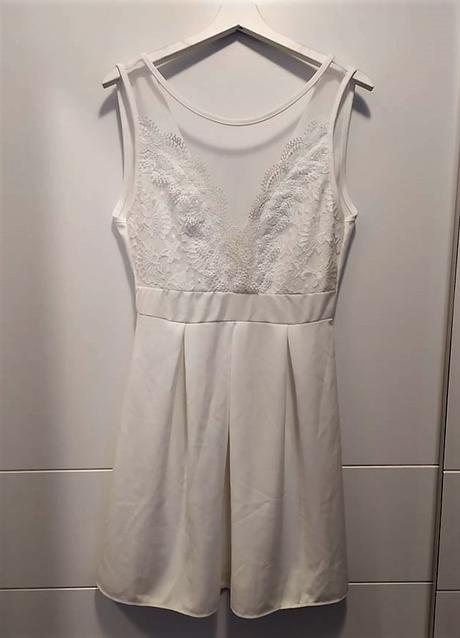 Popůlnoční šaty bílé - Obrázek č. 1