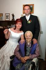 navštívili jsme i babičku (95 let)
