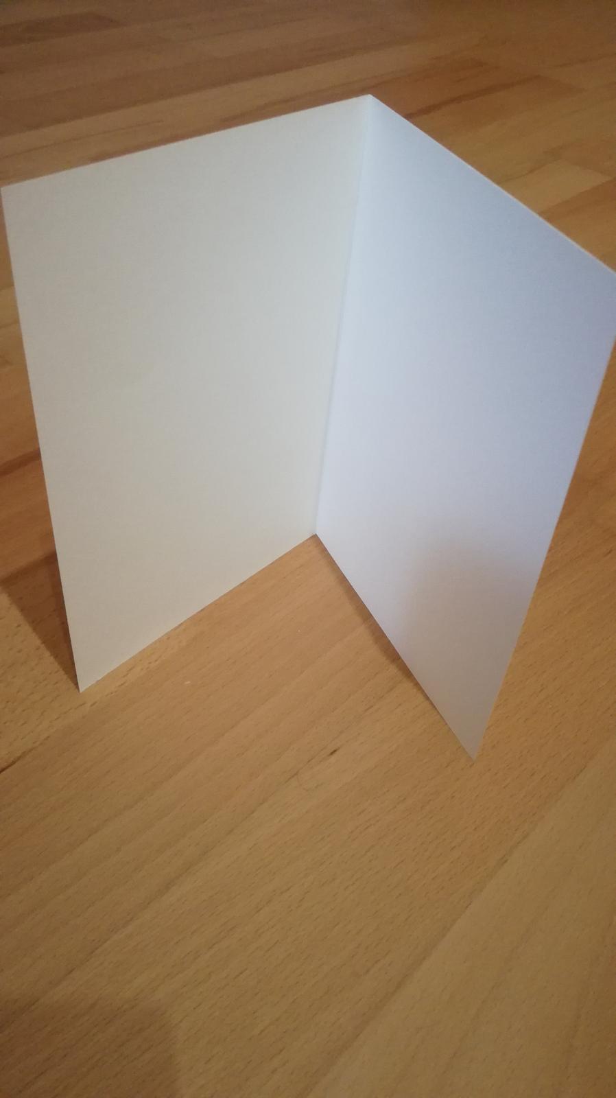 Kartičky krémové - Obrázok č. 1