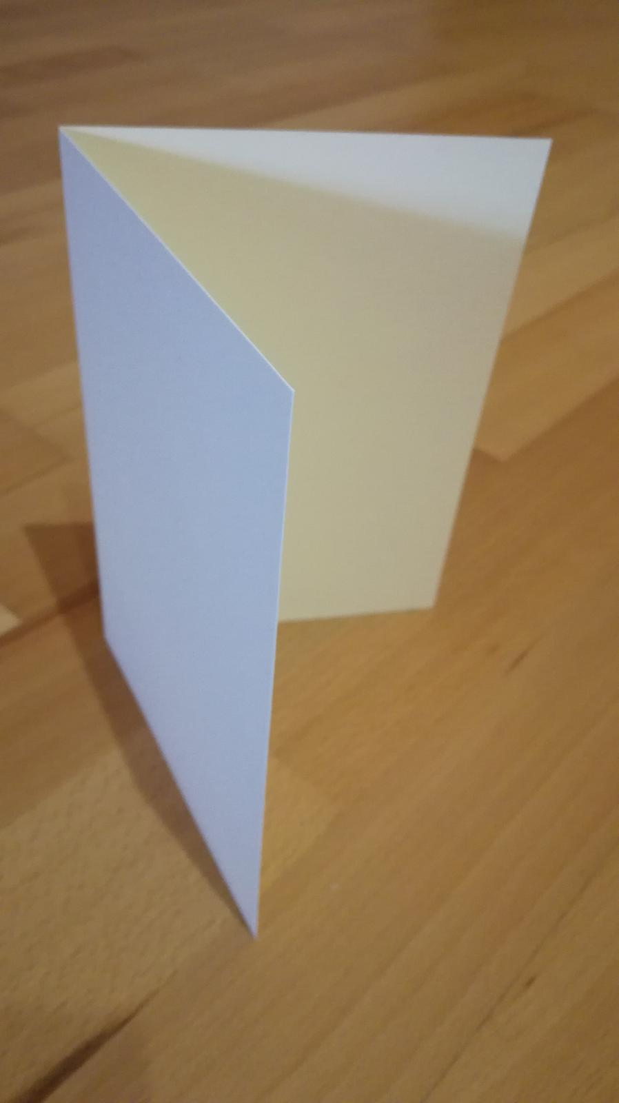 Kartičky krémové - Obrázok č. 2
