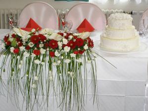 Taková kytička bude zdobit náš svatební stůl :-)