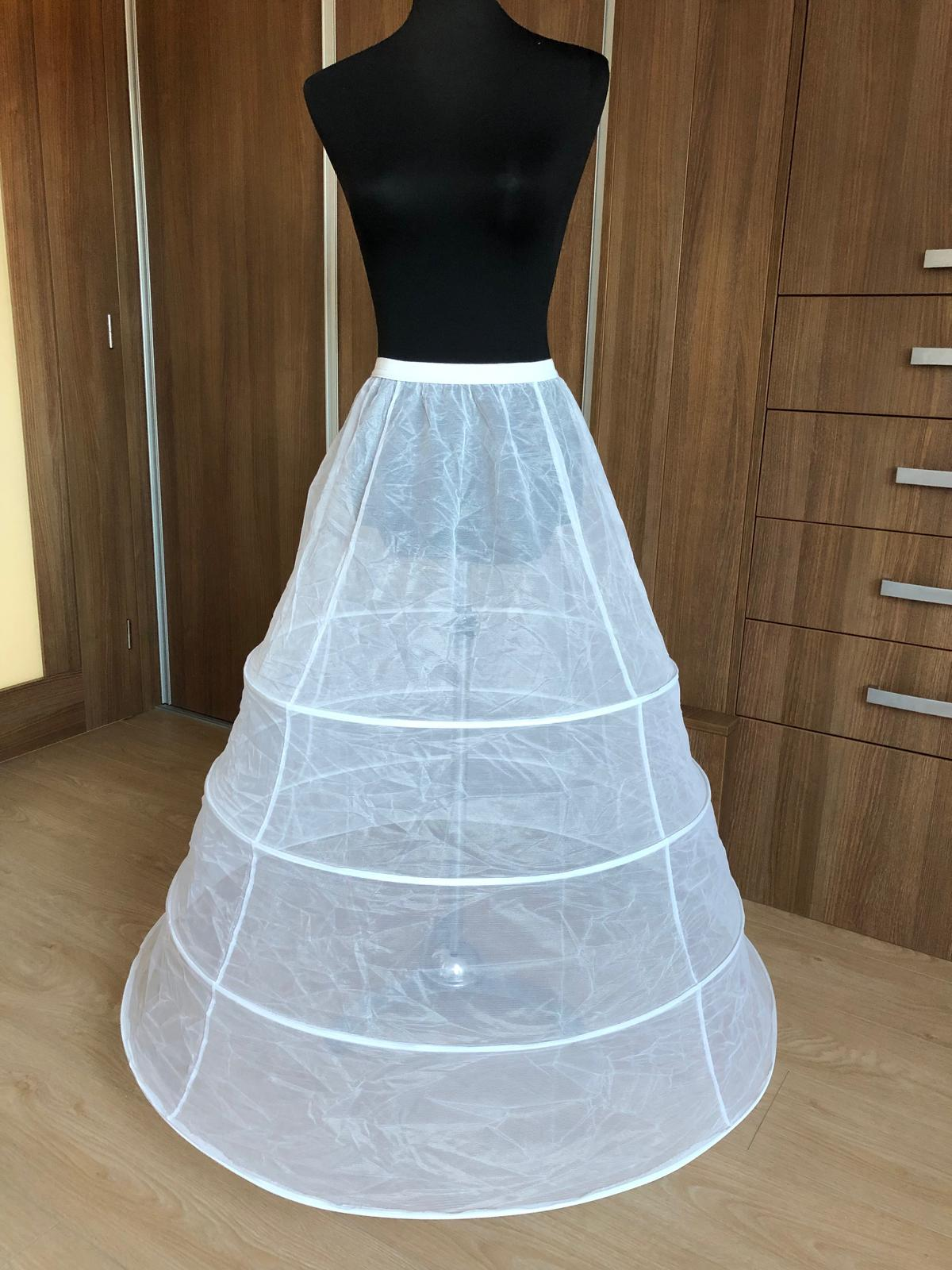 Spodnička pod svatební šaty - Obrázek č. 1