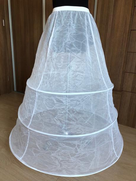 Nová spodnička pod svatební šaty 3 kruhy - Obrázek č. 1