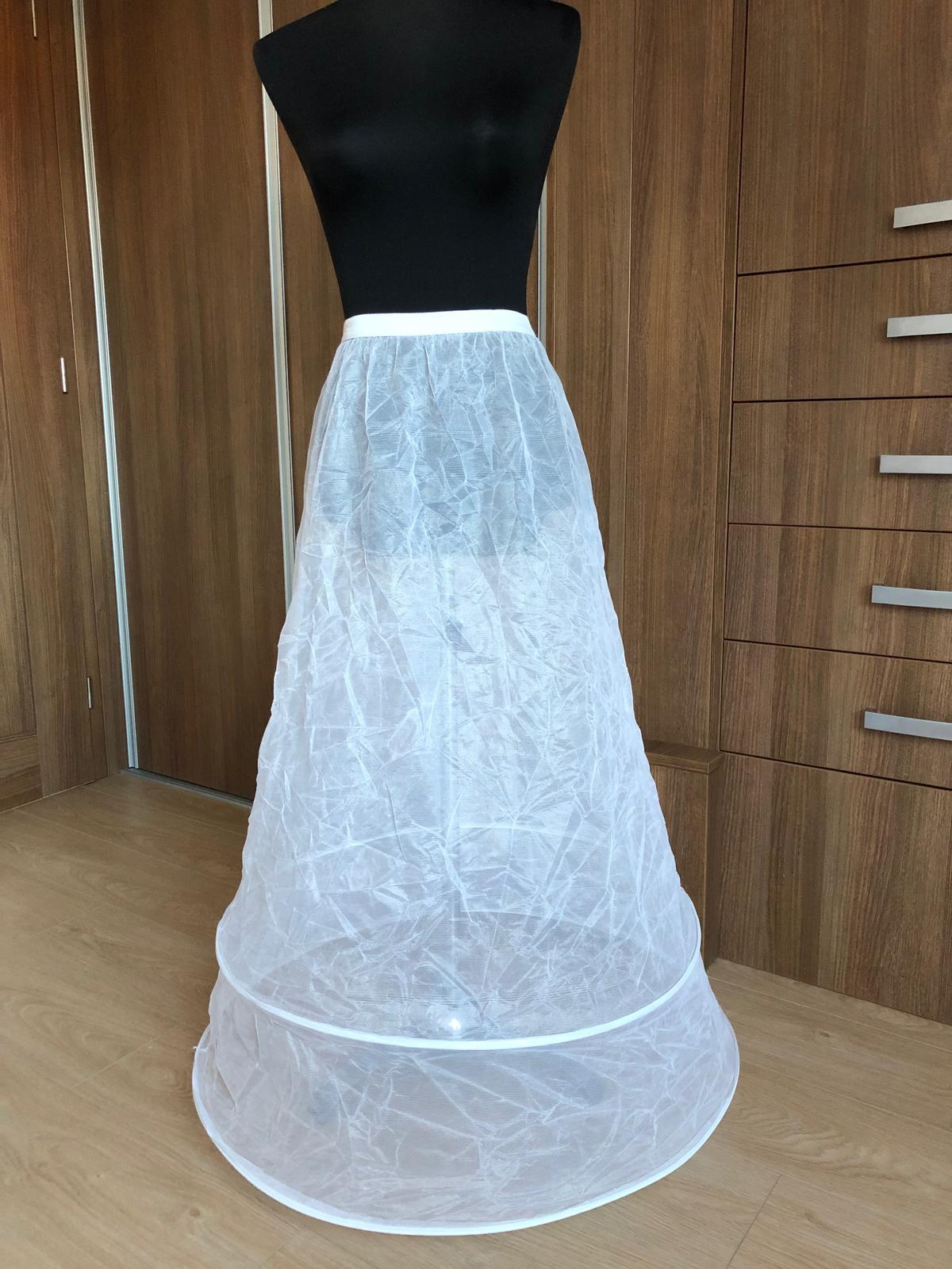 Spodnička pod svatební šaty 2 kruhy - Obrázek č. 2