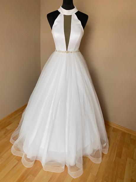 Sexy svatební šaty - Obrázek č. 1