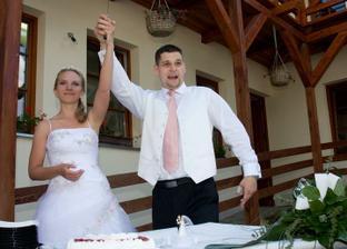 Krájení dortu :-)
