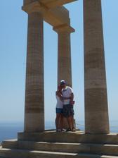 Naše svatební cesta na Rhodosu :-)