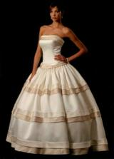 Krasne extravagantne šaty