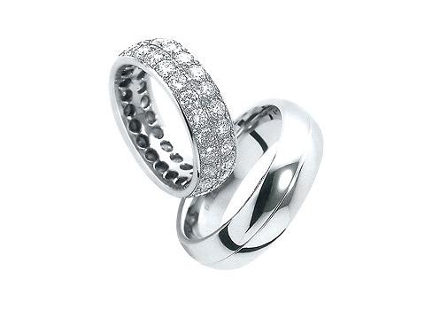 Weddiing rings - ....nieco biele...