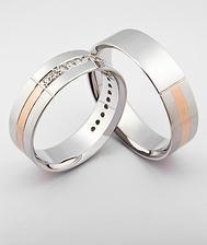 Naše snubné prstene
