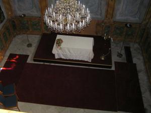 kaple na zámečku Hradiště v Blovicích