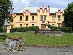 zámek Hradiště v Blovicích