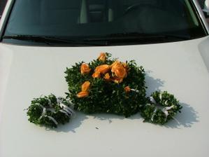 ozdoba na autě