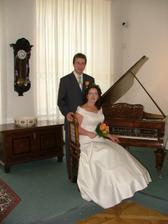foto u klavíru