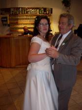 Já a strýček při tanečku