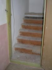 starý schody jsme dneska vybourali