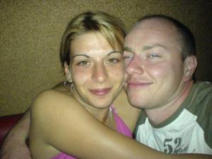 s budoucím manželem už hodně stará fotka