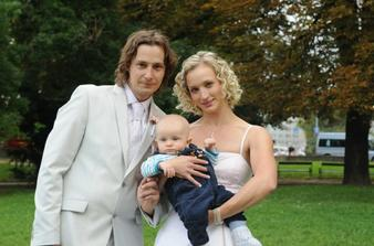 Nejmladší svatebčan;-)