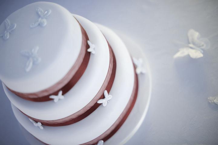 AĎKA & PEŤKO - decorated wedding cake