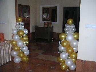 Nase sny - nejaka balonova vyzdoba...moze byt sranda pre decka...