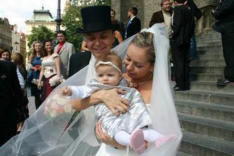 Nejmladsi svatebcan...Anicka
