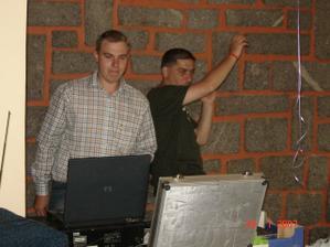 Láďa Ghitan s kolegou Láďou byli skvělí baviči :)