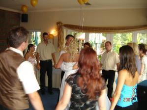 náš novomanželský taneček