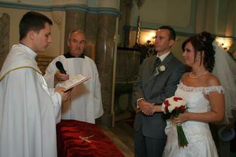 .. v kostole, kde som bola pokrstena