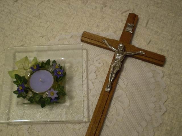 Naše svadobné prípravy - Na tento krížik si budeme sľubovať vernosť