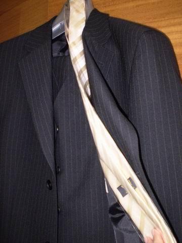 Naše svadobné prípravy - oblek môjho anjelika