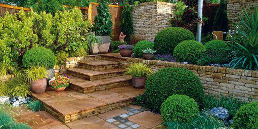 Zahrada, v hlavní roli kámen/ aneb jsem šutrofilka - Něco v tomto duchu bych si představovala na dvorku.