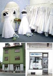 Monika + Patrik - 7.7.2007 - Začala jsem si vybírat šaty. Zamluvila jsem si je v této půjčovně v Klatovech.