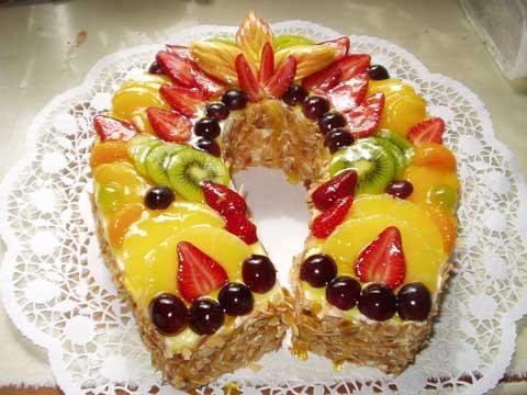 Monika + Patrik - 7.7.2007 - ...bude ovocný dort.