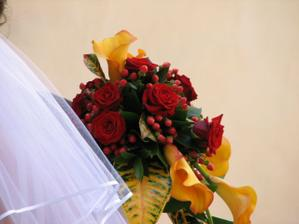 Moje kytí a kousek závoje :-)