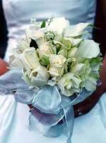 Kytičku bílou,růže kaly frézie