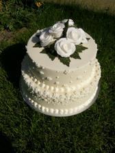 Překrásný dort od Liborků:-)