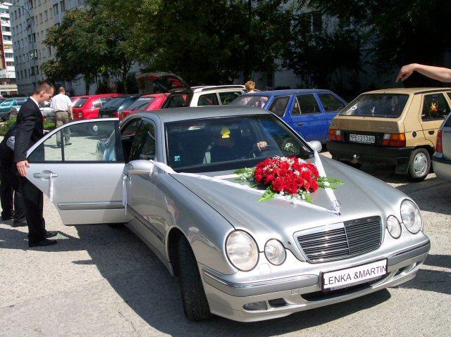 Lenka{{_AND_}}Martin - naše svadobné autíčko