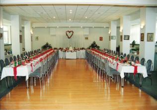svadobná hostina v Hotely Echo