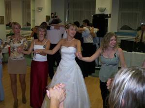 tanec s nevestou a ženíchom
