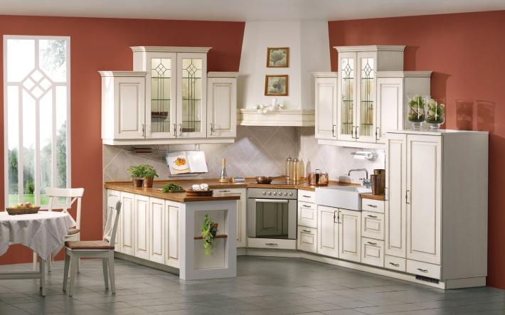 Drevo a biela v kuchyni - Obrázok č. 26