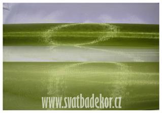 organza v zeleném ...