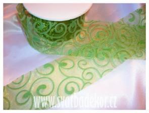 zelená stuha ...